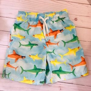 The Children's Place Swim Shorts Size 3T Sharks